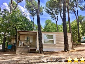 Mobil-home 6 personnes camping en provence