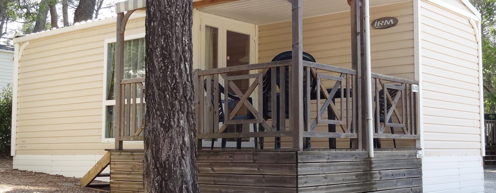 Location de mobil-home au camping le Devançon près d'Aix en Provence